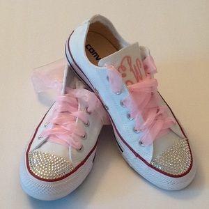 Converse All Star Rhinestone Bejeweled Sneakers